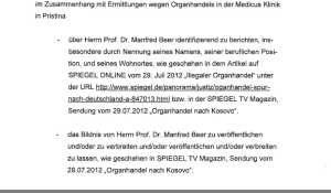 Prof. Manfred Beer