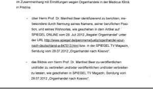 Prof. Manfred Beer