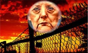 Willkommens Kultur mit der Schleuser Mafia: Angela Merkel